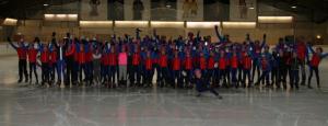 Clubkampioenschappen schaatsjeugd Leiden 07 maart