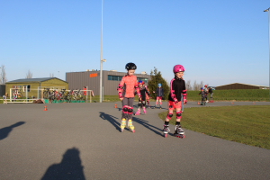 Eerste skeelertraining jeugd 16-04-2021