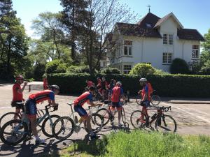 Zondagmorgen fietstraining 06-06-2021