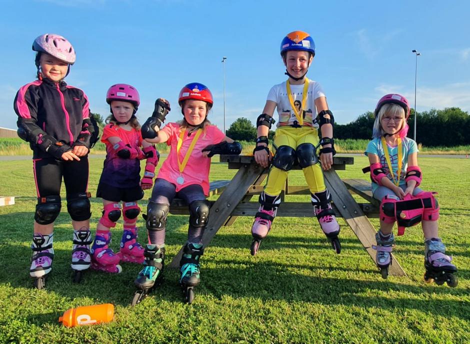 Skeelerkampioenschappen jeugd STG Ter Aar 2021
